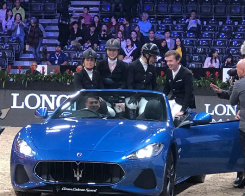 Four share spoils in masters power Maserati Trophy